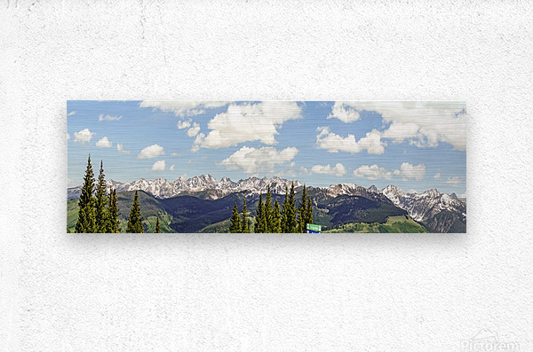 Wild Colorado   Metal print
