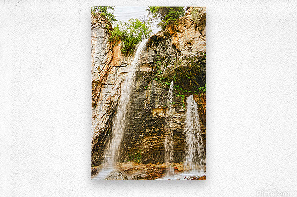 Rocky Mountain Rapids and Waterfalls 8 of 8  Metal print
