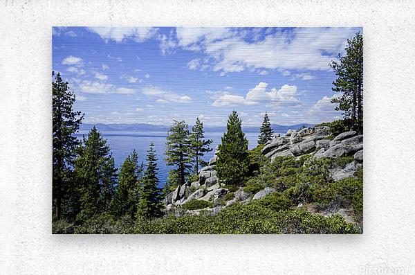 Spring at Lake Tahoe 5 of 7  Metal print