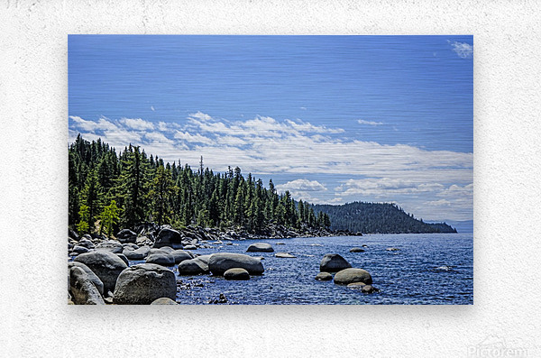 Out West 6 of 8  Metal print