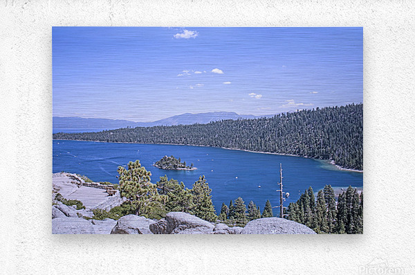 Out West 3 of 8  Metal print