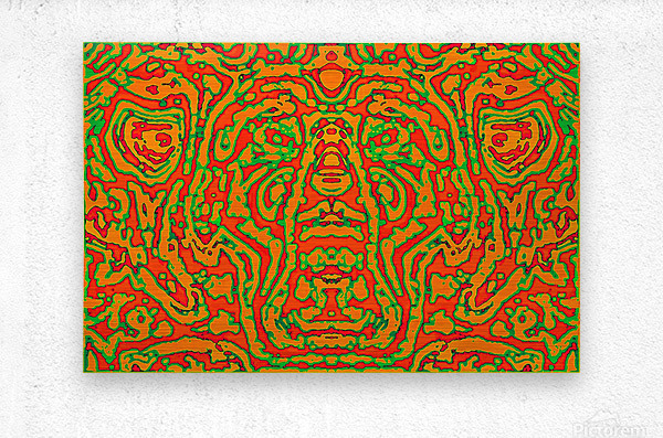 CAPRICIOUS AUDACITY I  Metal print