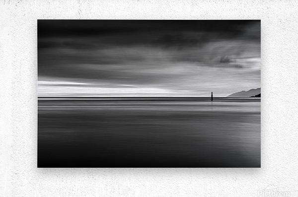 Calming Seas  Metal print