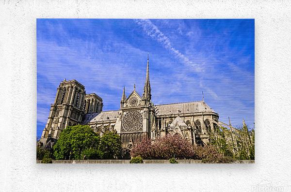 Notre Dame Paris  Metal print