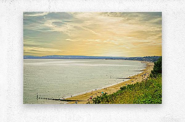 Coastal England  Metal print