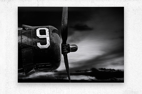 Number 9 Consolidated B24  Metal print
