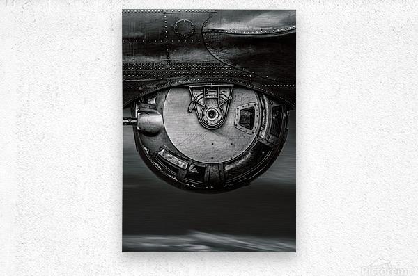 Ball Turret  Metal print