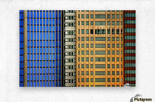 Windows on the City by So Sad Mathilde  Metal print