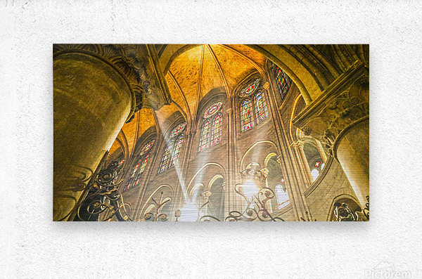 Divine Light  Metal print