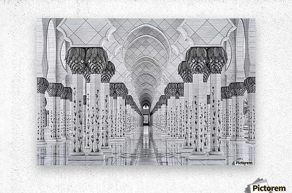 Kind of Symmetry  Metal print