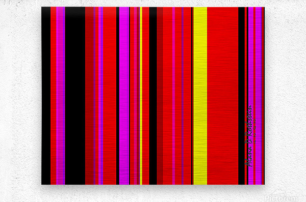 Color Bars 1  Metal print