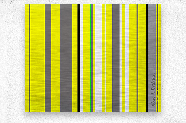Color Bars 3  Metal print