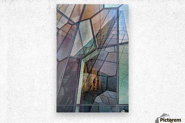 Colour Mosaic  Metal print