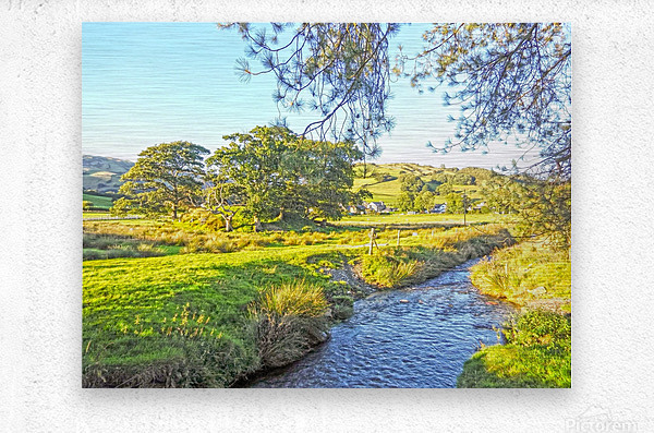 One Day in Wales 3 of 5  Metal print