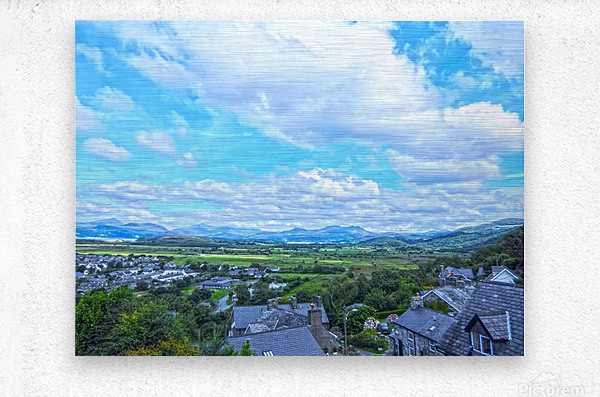 One Day in Wales 2 of 5  Metal print