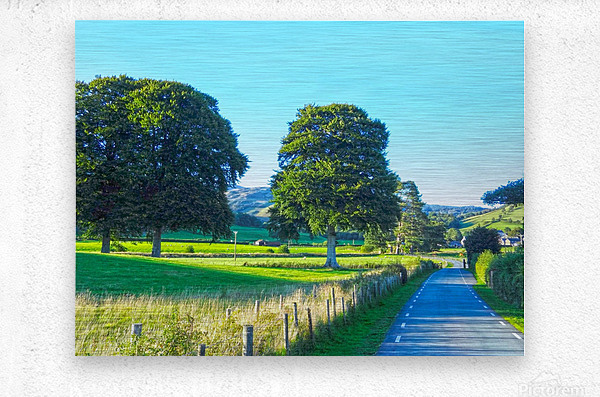 One Day in Wales 1 of 5  Metal print