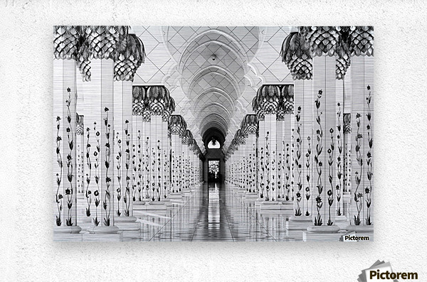 Sheik Zayed Mosque  Metal print