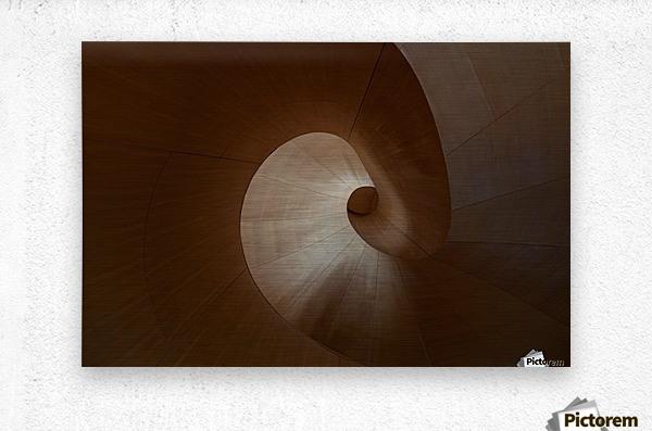 Spiral by Heather Bonadio   Metal print
