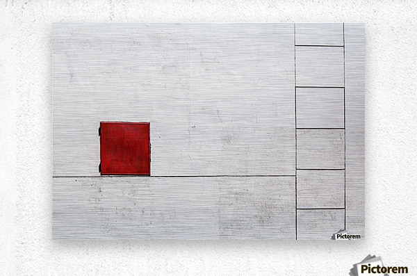 Suprematism is all Around  Metal print