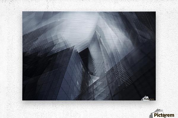 Parallel by Sebastien DEL GROSSO  Metal print