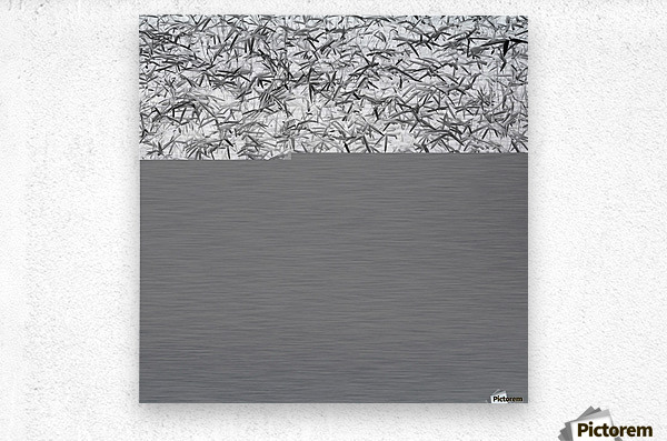 Parallelism  Metal print