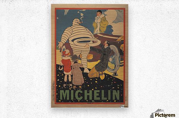 Michelin Pneu  Metal print