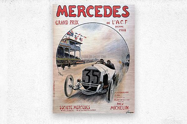Mercedes Grand Prix  Metal print