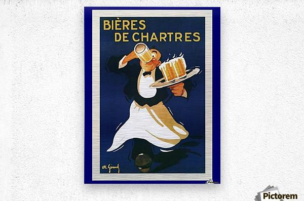 Bieres de Chartes  Metal print