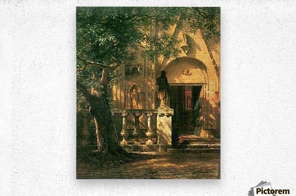 Sunlight and Shadow 2 by Bierstadt  Metal print