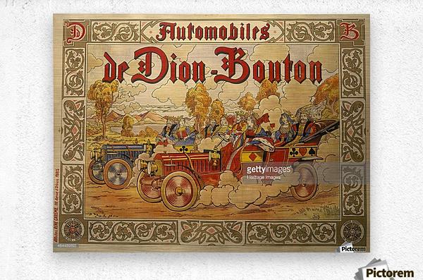 Dion Bouton  Metal print