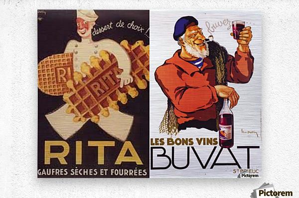 Rita Buvat  Metal print