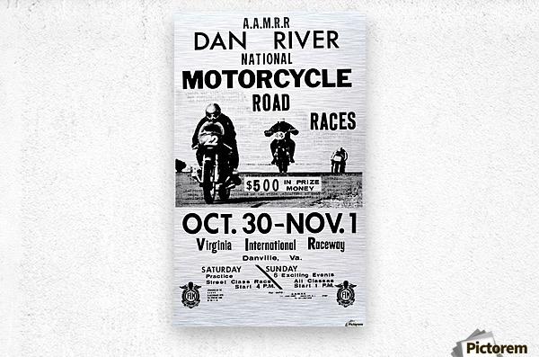 Dan River Race  Metal print