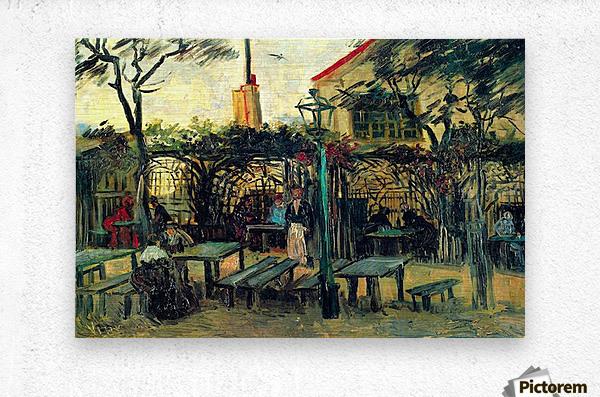 Terrace of a Cafe by Van Gogh  Metal print