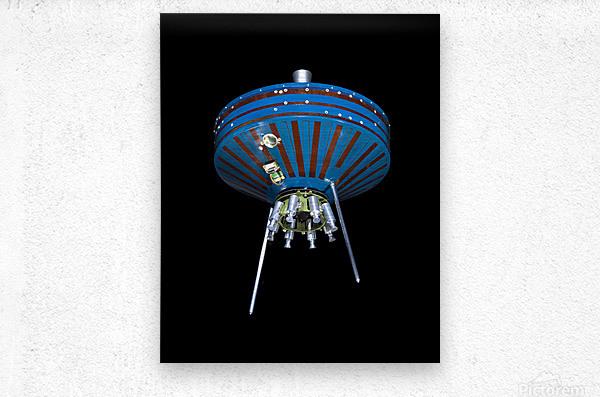 NASA Pioneer SatPioneer 1 Satellite Outer Space Image Space Imageellite Replica  Metal print