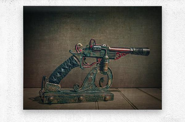 Steampunk 2  Metal print