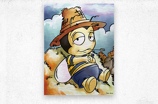 Its Country Buster  Metal print