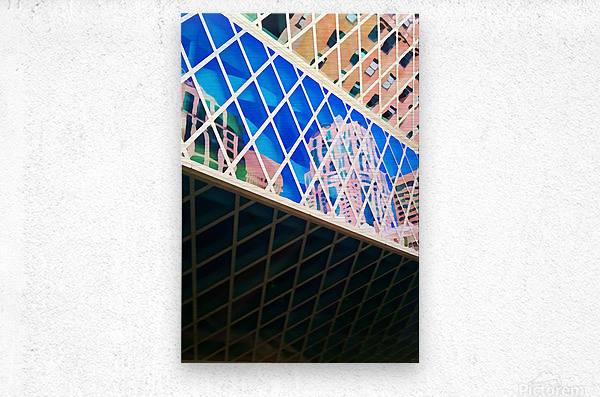 seattle downtown  Metal print