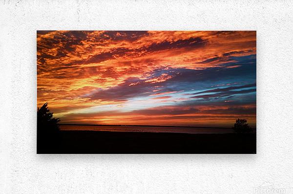 majestic sky  Metal print