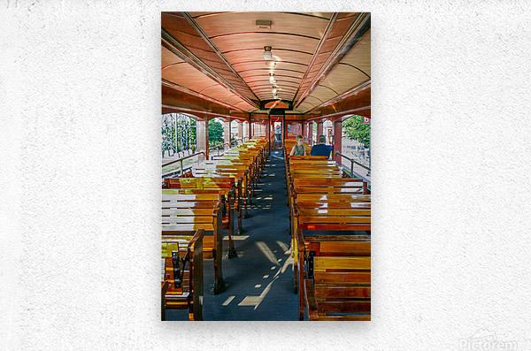 The Cheap Seats.  Metal print