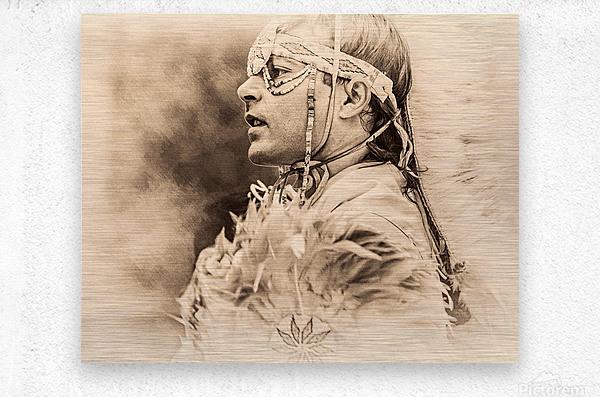 Native American 6  Metal print