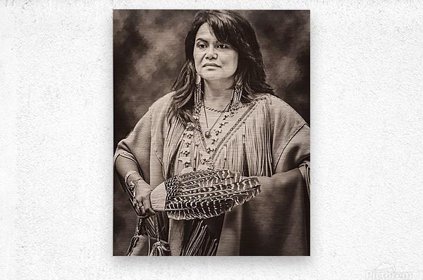 Native American 5  Metal print