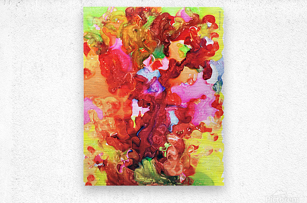 Clarity and Blur Midday  Metal print