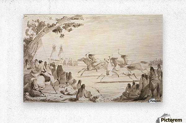 Indian Race  Metal print