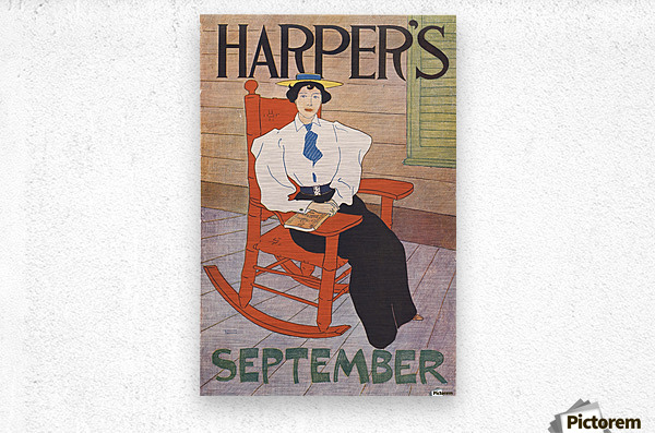 Harper's September  Metal print