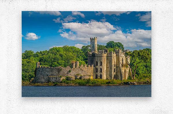 McDermott s Castle Ruins  Metal print