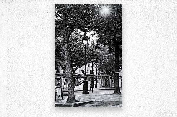 Richard Lenoir boulevard  Impression metal