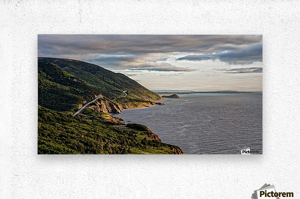 Summer on the Cabot Trail  Metal print