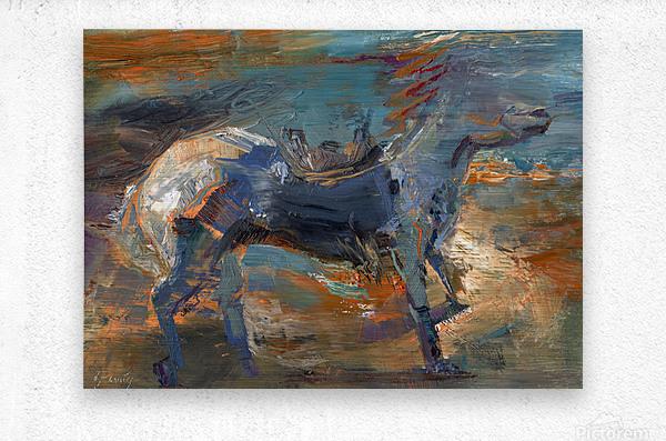 Ghost Rider - Titian  Metal print