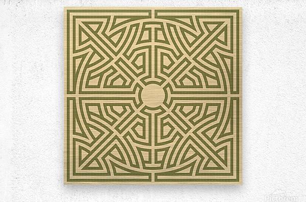 Labyrinth 6002  Metal print