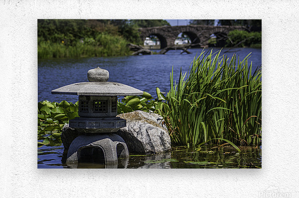 Pagoda in the Park  Metal print